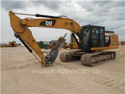 Caterpillar 323FL HMR, Crawler Excavators, Construction