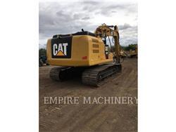 Caterpillar 323FL P, Excavatoare pe senile, Constructii