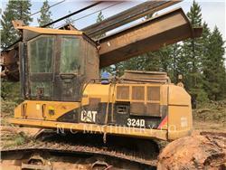 Caterpillar 324D FM、筑床机、林业机械