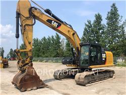 Caterpillar 324E, Crawler Excavators, Construction