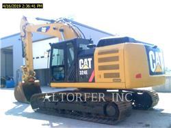Caterpillar 324EL, Koparki gąsienicowe, Sprzęt budowlany