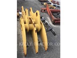 Caterpillar 325C, Enganches rápidos, Construcción