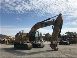 Caterpillar 326F, Crawler Excavators, Construction