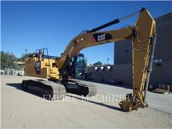 Caterpillar 326FL, Excavatoare pe senile, Constructii