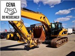 Caterpillar 329DL、履带挖掘机、建筑设备