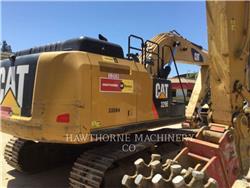 Caterpillar 329E, Crawler Excavators, Construction
