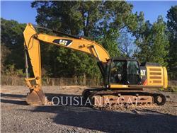 Caterpillar 329EL, Escavadoras de rastos, Equipamentos Construção