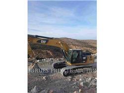 Caterpillar 330D2L, Excavadoras de cadenas, Construcción