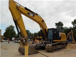 Caterpillar 336EL H, Pelle sur chenilles, Équipement De Construction