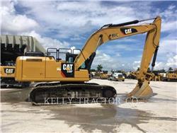 Caterpillar 336FL、履带挖掘机、建筑设备