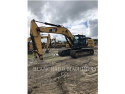 Caterpillar 336FL, Excavatoare pe senile, Constructii