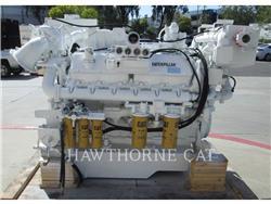 Caterpillar 3412 DITA, Marine Propulsion / Auxiliary Engines, Construction