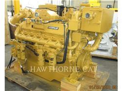 Caterpillar 3412C DITA, marítimo- auxiliar, Equipamentos Construção