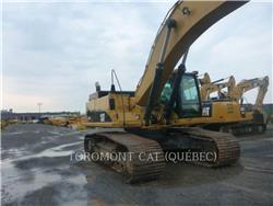 Caterpillar 345CL, Excavatoare pe senile, Constructii