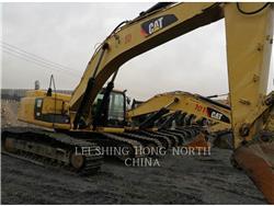 Caterpillar 349D2, Excavatoare pe senile, Constructii