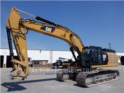 Caterpillar 349E, Excavadoras de cadenas, Construcción