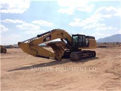 Caterpillar 349EL, Excavadoras de cadenas, Construcción