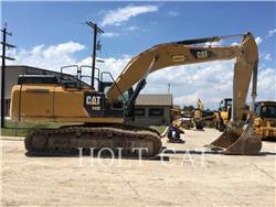Caterpillar 349EL, Excavatoare pe senile, Constructii