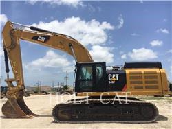 Caterpillar 349FL TC, Koparki gąsienicowe, Sprzęt budowlany