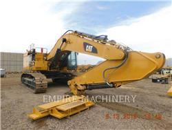 Caterpillar 374FL, Excavatoare pe senile, Constructii