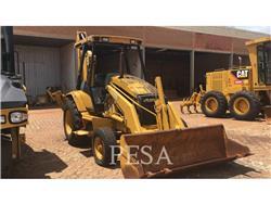 Caterpillar 416C, baggerlader, Bau-Und Bergbauausrüstung