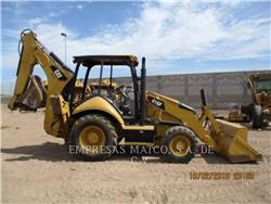Caterpillar 416FST, buldoexcavatoare, Constructii