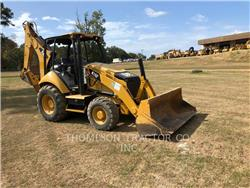 Caterpillar 416FST, backhoe loader, Construction