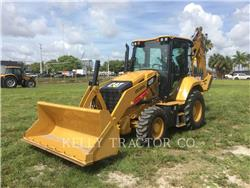 Caterpillar 420 F 2, backhoe loader, Construction