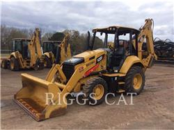 Caterpillar 420F 4, backhoe loader, Construction
