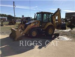 Caterpillar 420F 4AE, backhoe loader, Construction