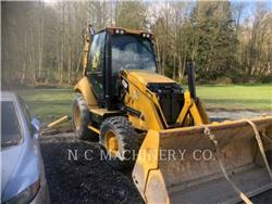 Caterpillar 420F 4ECB, backhoe loader, Construction