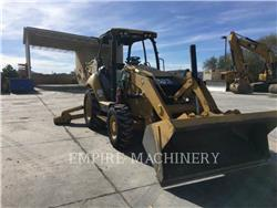 Caterpillar 420F 4EO, backhoe loader, Construction