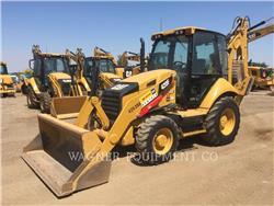 Caterpillar 420F 4WD, chargeuses-pelleteuses, Équipement De Construction