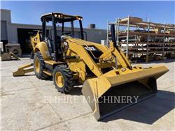 Caterpillar 420F2 4EO, buldoexcavatoare, Constructii