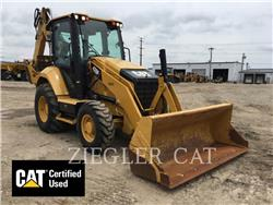 Caterpillar 420F2H2, backhoe loader, Construction