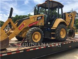 Caterpillar 420F2LAGSO, backhoe loader, Construction