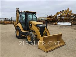 Caterpillar 420FH2, backhoe loader, Construction