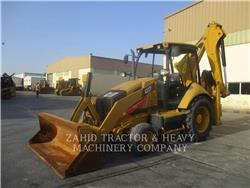 Caterpillar 422F, backhoe loader, Construction