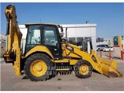 Caterpillar 422F2STLRC, buldoexcavatoare, Constructii