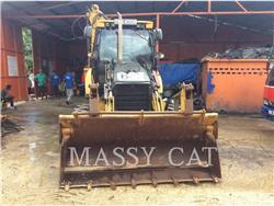 Caterpillar 428E, backhoe loader, Construction