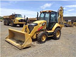Caterpillar 430F 4WD, backhoe loader, Construction
