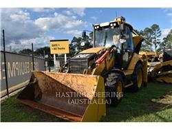 Caterpillar 432F, backhoe loader, Construction