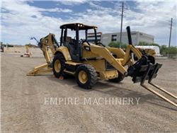 Caterpillar 440-74EOIM, backhoe loader, Construction