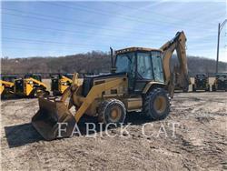 Caterpillar 446D, baggerlader, Bau-Und Bergbauausrüstung