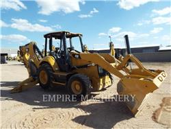 Caterpillar 450-074EOP, backhoe loader, Construction