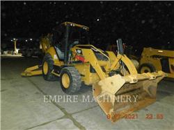Caterpillar 450F 4EOM, buldoexcavatoare, Constructii