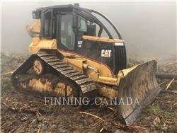 Caterpillar 527GR, exploitation forestière - débardeurs, Forestier