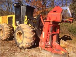 Caterpillar 553C、フェラーバンチャー、林業機械
