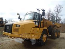 Caterpillar 725C, Transportoare articulate, Constructii