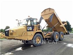 Caterpillar 725C T, Transportoare articulate, Constructii